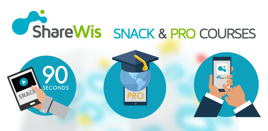 ShareWis Snack and Pro Courses