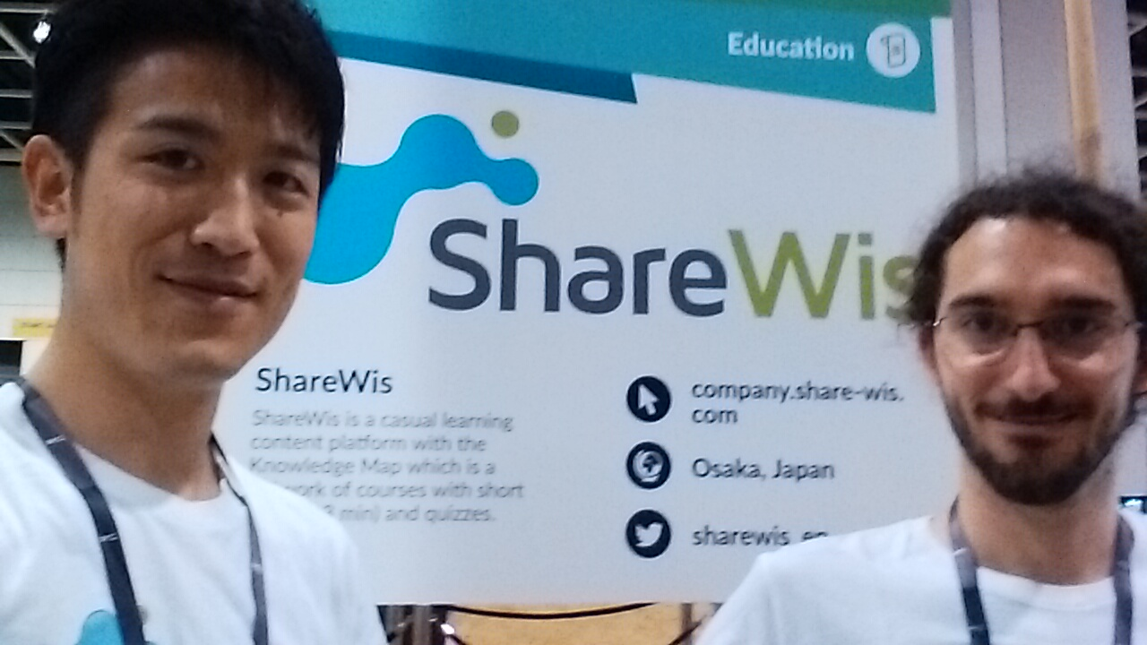 RISE ShareWisブース出展