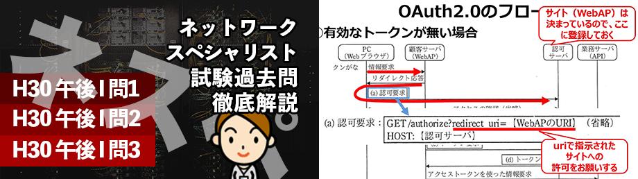 左門至峰氏のネットワークスペシャリスト講座のコース画像と動画のスクリーンショット画像を並べた画像